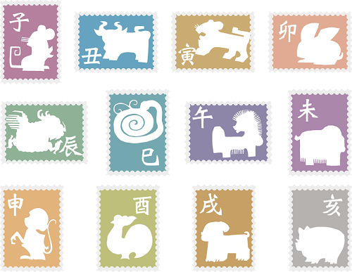 Japanese zodiac animals