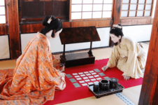 Traditional Japanese card game