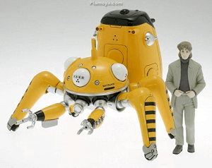 Ghost in the Shell Anime Figure Togusa with Tachikoma