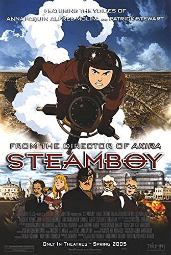 STEAMBOY : The pictures and worldview is great but