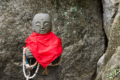 "What is the point of Buddha statue ""Jizo"" in Japan?"